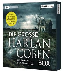 Die große Harlan-Coben-Box, 3 Audio-CD, MP3