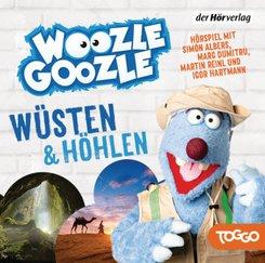 Woozle Goozle - Wüsten & Höhlen, 1 Audio-CD