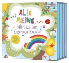 Alle meine Jahreszeiten Kinderlieder-Klassiker, 4 Audio-CD