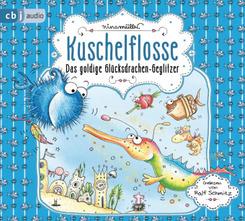 Kuschelflosse - Das goldige Glücksdrachen-Geglitzer, 2 Audio-CD