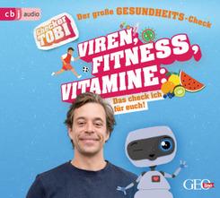 Checker Tobi - Der große Gesundheits-Check: Viren, Fitness, Vitamine - Das checke ich für euch!, 1 Audio-CD