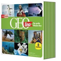 Die große GEOLINO-Wissens-Box, 8 Audio-CD