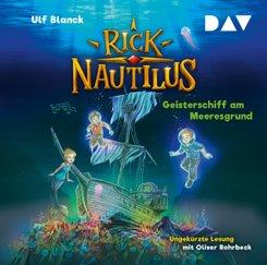 Rick Nautilus - Teil 4: Geisterschiff am Meeresgrund, 2 Audio-CD
