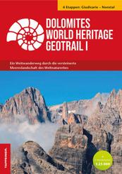Dolomites World Heritage Geotrail I - Giudicarie - Nonsberg (Trentino), m. 2 Karte