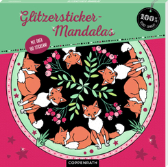 Glitzersticker-Mandalas