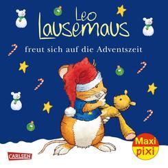 Maxi Pixi 366: Leo Lausemaus freut sich auf die Adventszeit