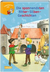 LESEMAUS zum Lesenlernen Sammelbände: Die spannendsten Ritter-Silben-Geschichten