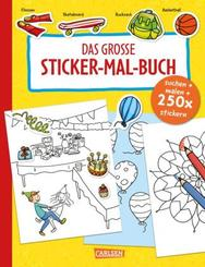 Das große Sticker-Mal-Buch