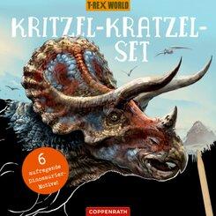 Kritzel-Kratzel-Set(Triceratops)