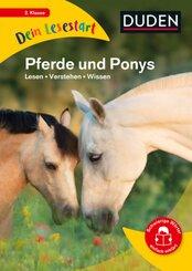 Dein Lesestart - Band 1: Pferde und Ponys