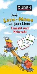 Mein Lern-Memo mit Rabe Linus - Einzahl und Mehrzahl
