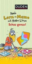 Mein Lern-Memo mit Rabe Linus - Schau genau!