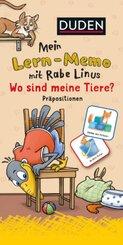 Mein Lern-Memo mit Rabe Linus - Wo sind meine Tiere?