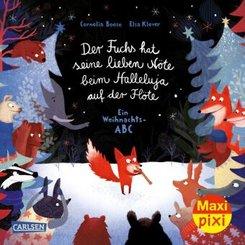 Maxi Pixi 354: VE 5 Der Fuchs hat seine lieben Nöte beim Halleluja auf der Flöte (5 Exemplare)