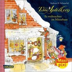 Maxi Pixi 363: VE 5 TILDA APFELKERN: Es weihnachtet im Mäusehaus (Wimmelbuch) (5 Exemplare)