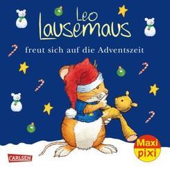 Maxi Pixi 366: VE 5 Leo Lausemaus freut sich auf die Adventszeit (5 Exemplare)