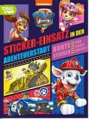 PAW Patrol - Der Kinofilm: Stickerbuch