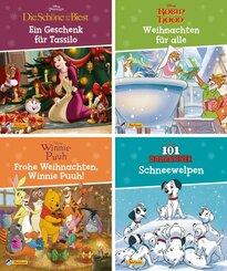 Nelson Mini-Bücher: Disney Weihnachten 1-4