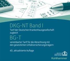 DKG-NT Tarif der Deutschen Krankenhausgesellschaft: DKG-NT Band I / BG-T