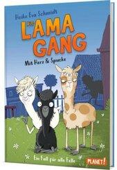 Die Lama-Gang. Mit Herz & Spucke 1: Ein Fall für alle Felle