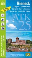 ATK25-C03 Rieneck (Amtliche Topographische Karte 1:25000)