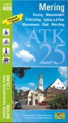 ATK25-N09 Mering (Amtliche Topographische Karte 1:25000)