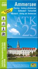 ATK25-O09 Ammersee (Amtliche Topographische Karte 1:25000)