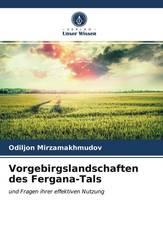 Vorgebirgslandschaften des Fergana-Tals