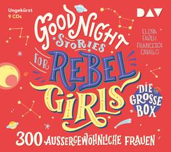 Good Night Stories for Rebel Girls - Die große Box (9 CDs), 9 Audio-CD