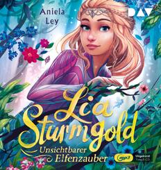 Lia Sturmgold - Teil 3: Unsichtbarer Elfenzauber, 1 Audio-CD, 1 MP3
