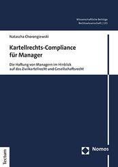 Kartellrechts-Compliance für Manager