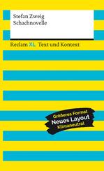 Schachnovelle. Textausgabe mit Kommentar und Materialien
