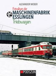 Fotoalbum der Maschinenfabrik Esslingen: Triebwagen