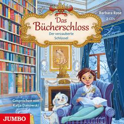 Das Bücherschloss. Der verzauberte Schlüssel, 2 Audio-CD