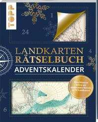 Landkarten Rätselbuch Adventskalender