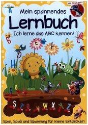 Mein Lernbuch für die Vorschule - Das ABC