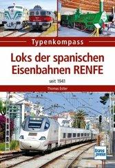 Loks der spanischen Eisenbahnen RENFE