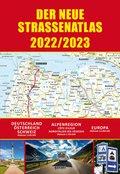 Straßenatlas 2022/2023 für Deutschland und Europa