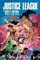 Justice League von Scott Snyder (Deluxe-Edition) - Bd.2 (von 2)