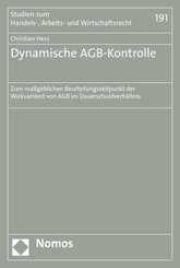 Dynamische AGB-Kontrolle
