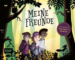 Meine Freunde - Das Freundebuch mit schaurig-spannendem Escape-Rätsel