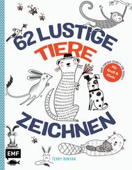 62 lustige Tiere zeichnen - Für Groß und Klein!
