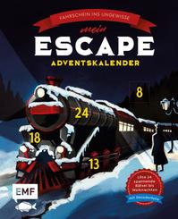 Mein Escape-Adventskalender: Fahrschein ins Ungewisse - Mit Decoderfolie