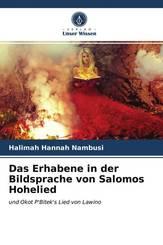 Das Erhabene in der Bildsprache von Salomos Hohelied