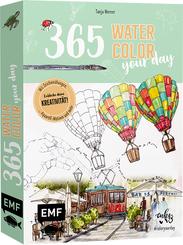 365 - Watercolor your day - Entdecke deine Kreativität!