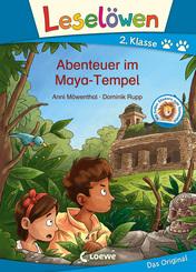 Leselöwen 2. Klasse - Abenteuer im Maya-Tempel
