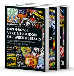 Das große Vereinslexikon des Weltfußballs, 3 Teile