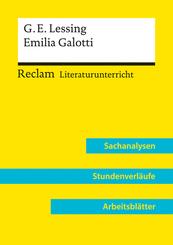 Gotthold Ephraim Lessing: Emilia Galotti (Lehrerband)