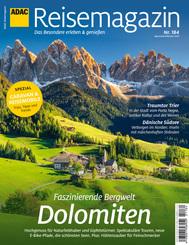 ADAC Reisemagazin 08/21 mit Titelthema Dolomiten