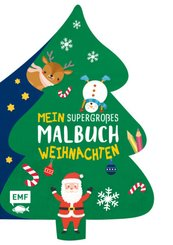Mein supergroßes Malbuch - Weihnachten (Tannenbaum)